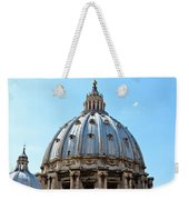St Peters Basilica Dome Vatican City Italy Weekender Tote Bag