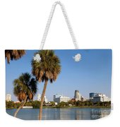 St Petersburg Florida From Mirror Lake Park Weekender Tote Bag