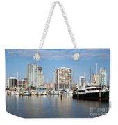 St Petersburg Yacht Basin Weekender Tote Bag