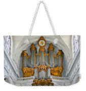 St Roch Organ In Paris Weekender Tote Bag