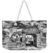St Sannans Church Bedwellty 4 Mono Weekender Tote Bag