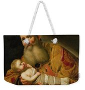 St Simeon Presenting The Infant Christ In The Temple  Weekender Tote Bag
