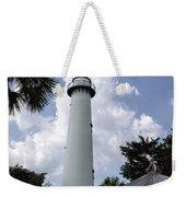 St. Simon's Island Georgia Lighthouse Weekender Tote Bag