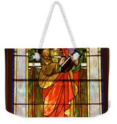 St. Stan's Stained Glass Weekender Tote Bag