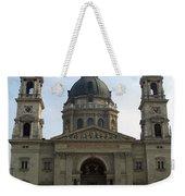 St Stephens Basilica Budapest Weekender Tote Bag