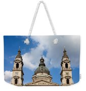 St. Stephen's Basilica Dome And Bell Towers Weekender Tote Bag