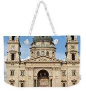 St. Stephen's Basilica In Budapest Weekender Tote Bag