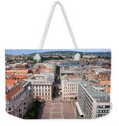 St Stephen's Square In Budapest Weekender Tote Bag