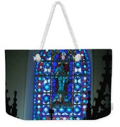 St Thomas Stained Glass Weekender Tote Bag