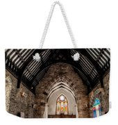 St Tudcluds Church Weekender Tote Bag by Adrian Evans