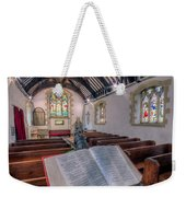 St Tysilios Bible Weekender Tote Bag