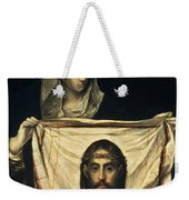 St Veronica With The Holy Shroud Weekender Tote Bag