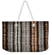 Stacked Coins Weekender Tote Bag