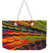 Stacked Colors Weekender Tote Bag