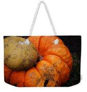 Stacked Pumpkins Weekender Tote Bag
