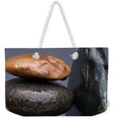 Stacked Stones 3 Weekender Tote Bag by Steve Gadomski
