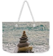 Stacking Stones Weekender Tote Bag