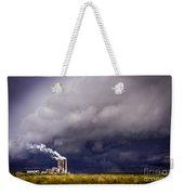 Stacks In The Clouds Weekender Tote Bag