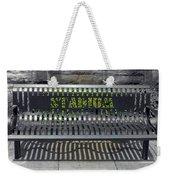 Stadium Bench Weekender Tote Bag
