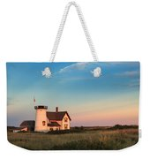 Stage Harbor Lighthouse Weekender Tote Bag
