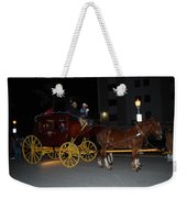 Stagecoach And Horses Weekender Tote Bag