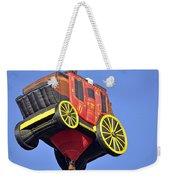 Stagecoach In The Sky Weekender Tote Bag