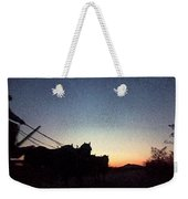 Stagecoach Riding Off Into The Sunset Weekender Tote Bag