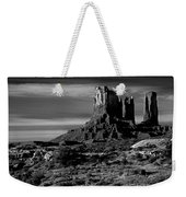 Stagecoach Rock Monument Valley Weekender Tote Bag