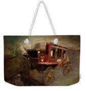 Stagecoach West Sepia Textured Weekender Tote Bag