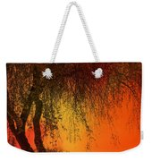 Stained By The Sunset Weekender Tote Bag