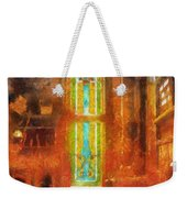 Stained Glass 05 Photo Art Weekender Tote Bag