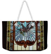 Stained Glass 3 Panel Vertical Composite 03 Weekender Tote Bag