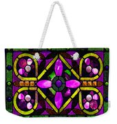 Stained Glass 3 Weekender Tote Bag
