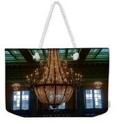 Stained Glass And Chandelier  Weekender Tote Bag