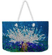 Stained Glass Anemone 1 Weekender Tote Bag