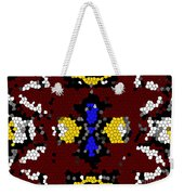 Stained Glass Art Abstract Weekender Tote Bag