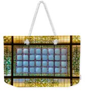 Stained Glass At Md State House Weekender Tote Bag