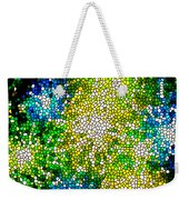 Stained Glass Beautiful Fireworks Weekender Tote Bag