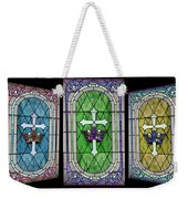 Stained Glass Beauty Weekender Tote Bag