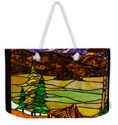 Stained-glass-beauty Weekender Tote Bag