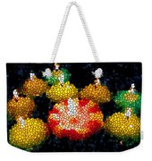 Stained Glass Candle 1 Weekender Tote Bag
