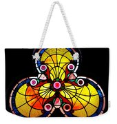 Stained Glass  Weekender Tote Bag by Chris Berry