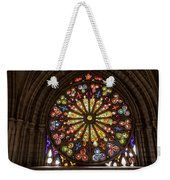 Stained Glass Details Weekender Tote Bag