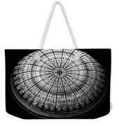 Stained Glass Dome - Bw Weekender Tote Bag