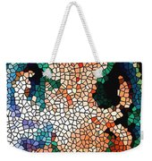 Stained Glass Ganapati Weekender Tote Bag
