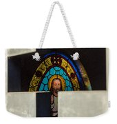 Stained Glass In A Tomb Weekender Tote Bag