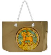 Stained Glass In Colva Weekender Tote Bag