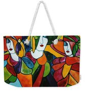 Stained Glass Iv Weekender Tote Bag