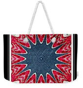 Stained Glass Lace - Kaleidoscope Weekender Tote Bag