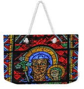Stained Glass Of Chartres Weekender Tote Bag
